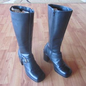 Steve Madden Firee Platform Boots Size 7
